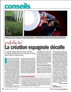 Création espagnole_Stratégies_Février 2009