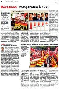 Economie_Le Télégramme_Mai 2009