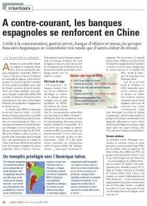 Espagne_Chine_L'Agefi Hebdo_Juillet 2009