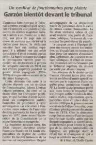 Garzon bientot devant le tribunal_La Voix du Luxembourg_28052009