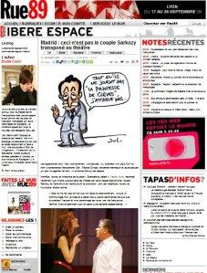 Escandalo en palacio_Rue89_Septembre 2009