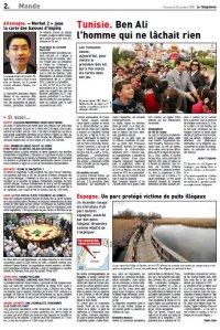 Tablas de Daimiel_Le Télégramme_Octobre 2009