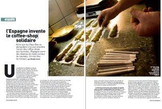 Cannabis: l'Espagne invente le coffee-shop solidaire