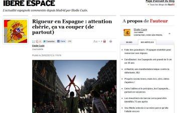 Rigueur en Espagne : attention chérie, ça va couper (de partout)